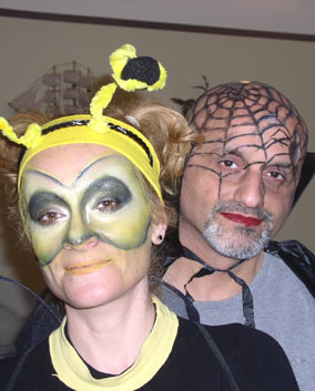 Purim make-up examples.   click here to zoom picture