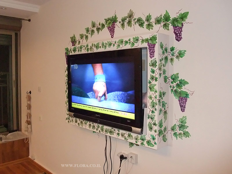 Interior design - Grape painting