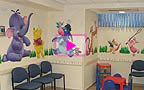 Video clip - Pediatric office Murals
