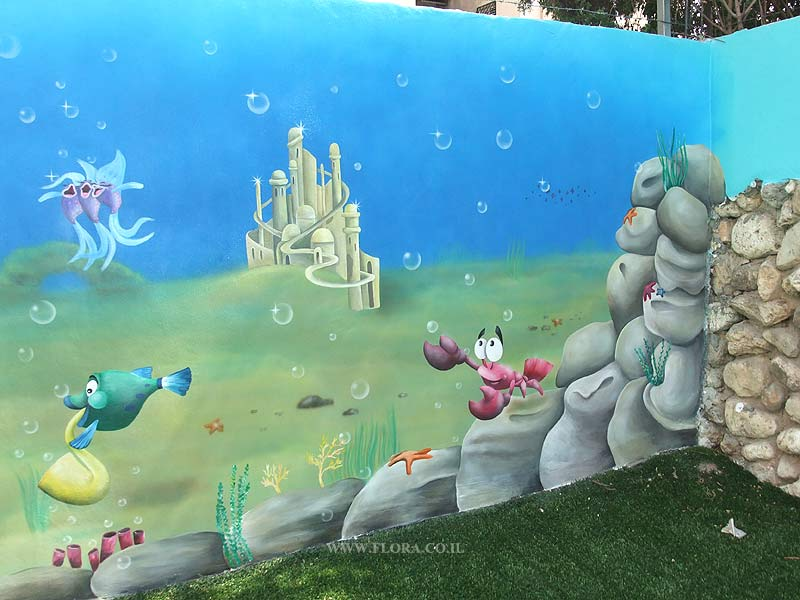 Underwater Mermaid Castle Little Mermaid Ariel Castle